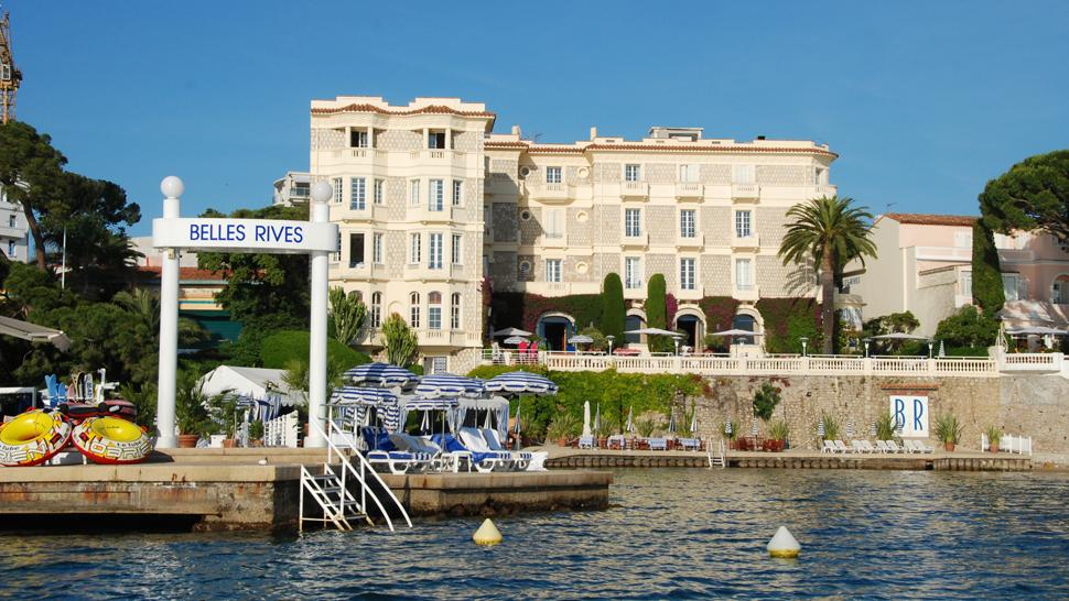Hotel belles rives juan les pins higher poetics just for Hotels juan les pins